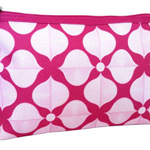 Clinique Jonathan Adler Feather Pink Cosmetic Bag